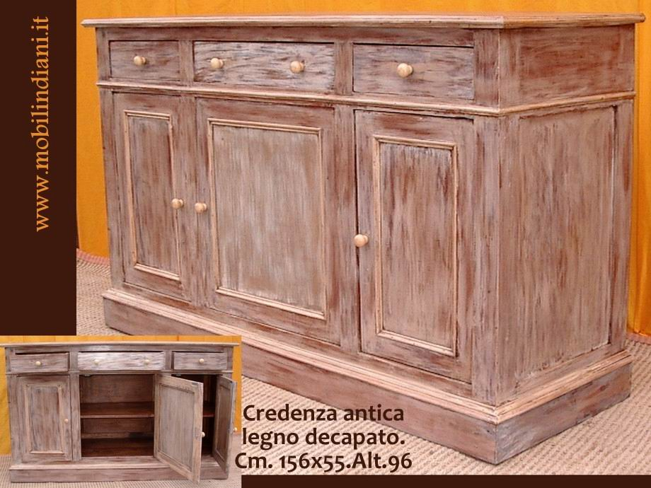 Mobili Country: Credenza decapata