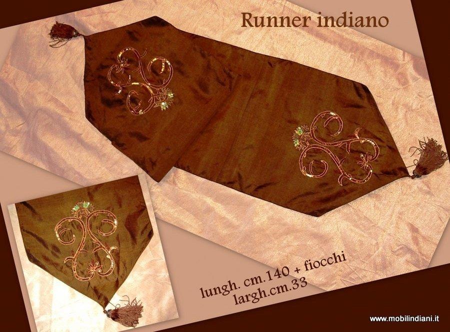 Tende tessuti arazzi tessuti indiani runner etnico - Runner per tavolo ...