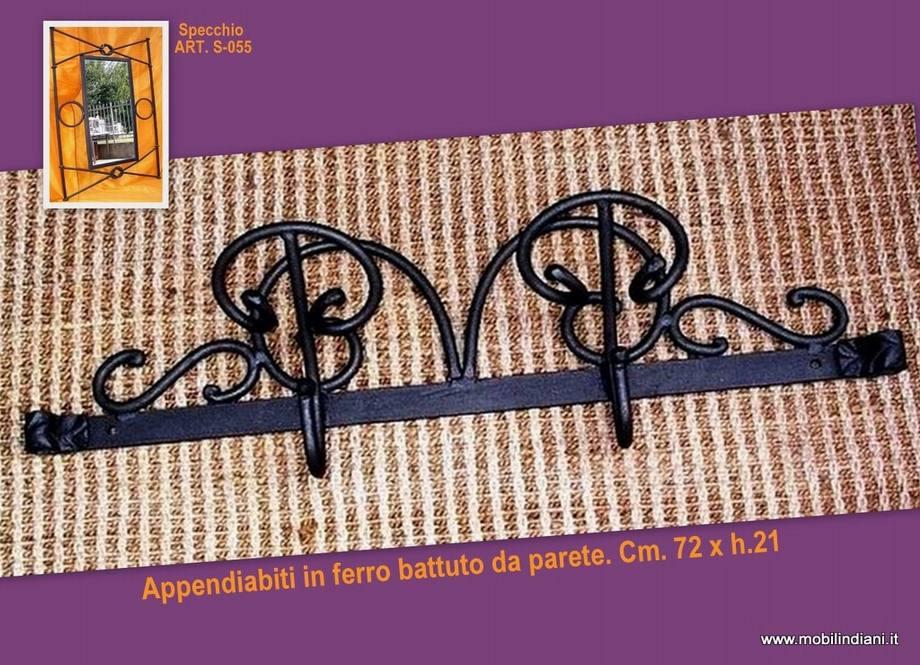 Appendiabiti In Ferro Da Parete.Separe E Appendiabiti Appendiabiti Etnico In Ferro