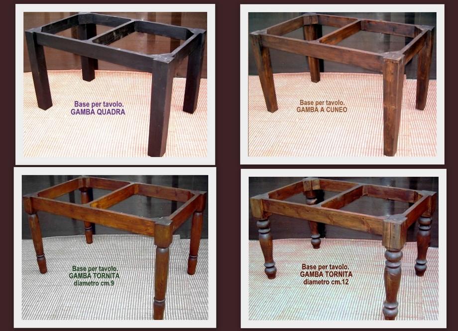 Tavoli in legno massello tavolo da cucina cm 120x70 - Tavolo cucina 120 x 70 ...
