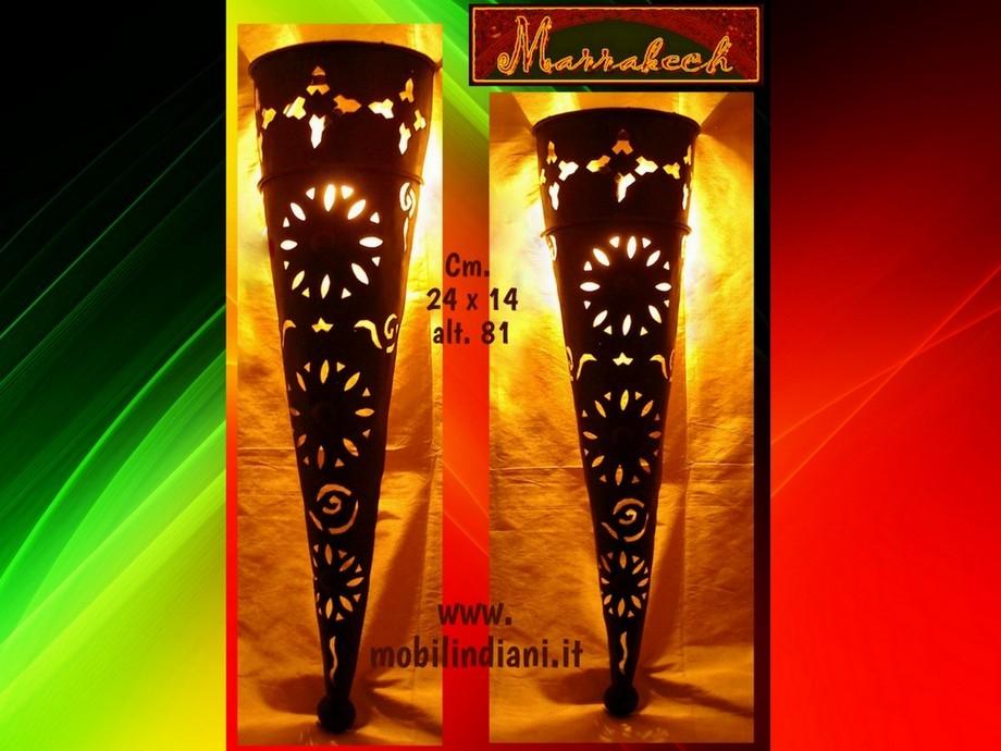 Lampade lanterne marocchine: lampade orientali in ferro