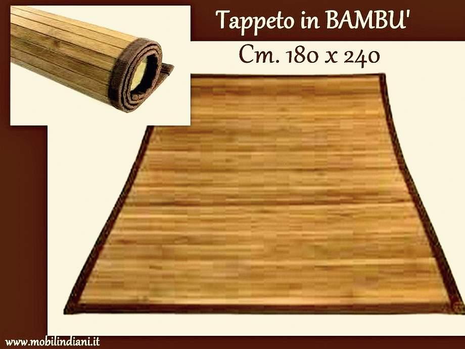 Tappeti e passatoie tappeto in bamboo 180x240 - Tappeti in bamboo ...