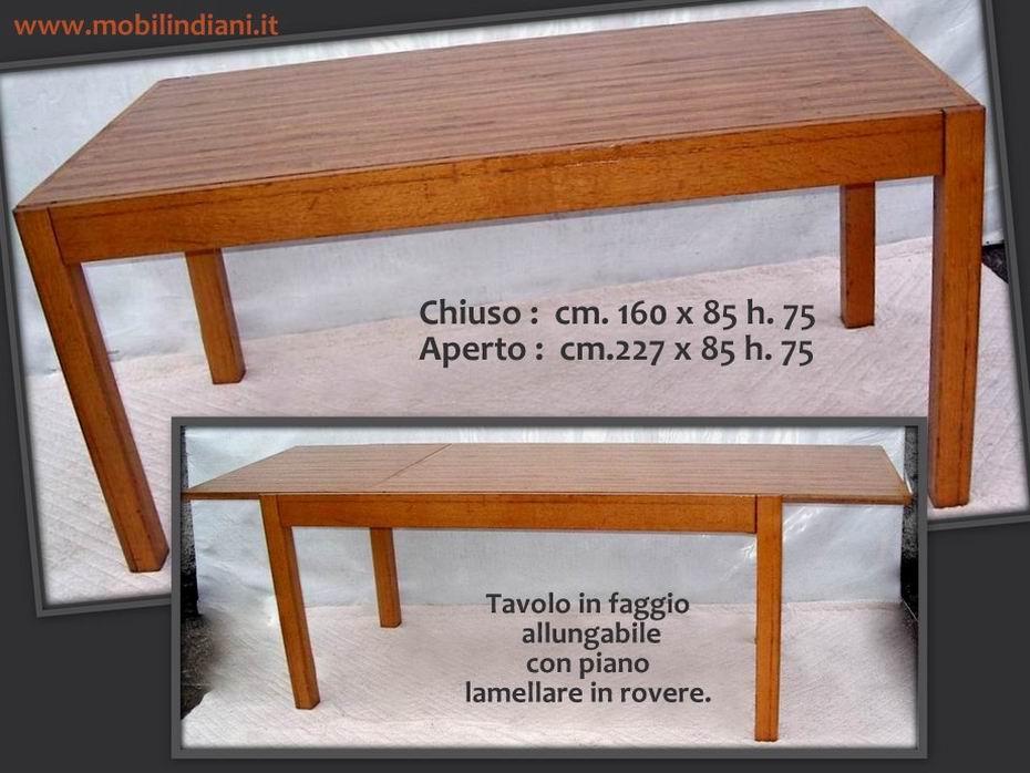Emejing tavolo allungabile moderno contemporary for Tavoli etnici allungabili
