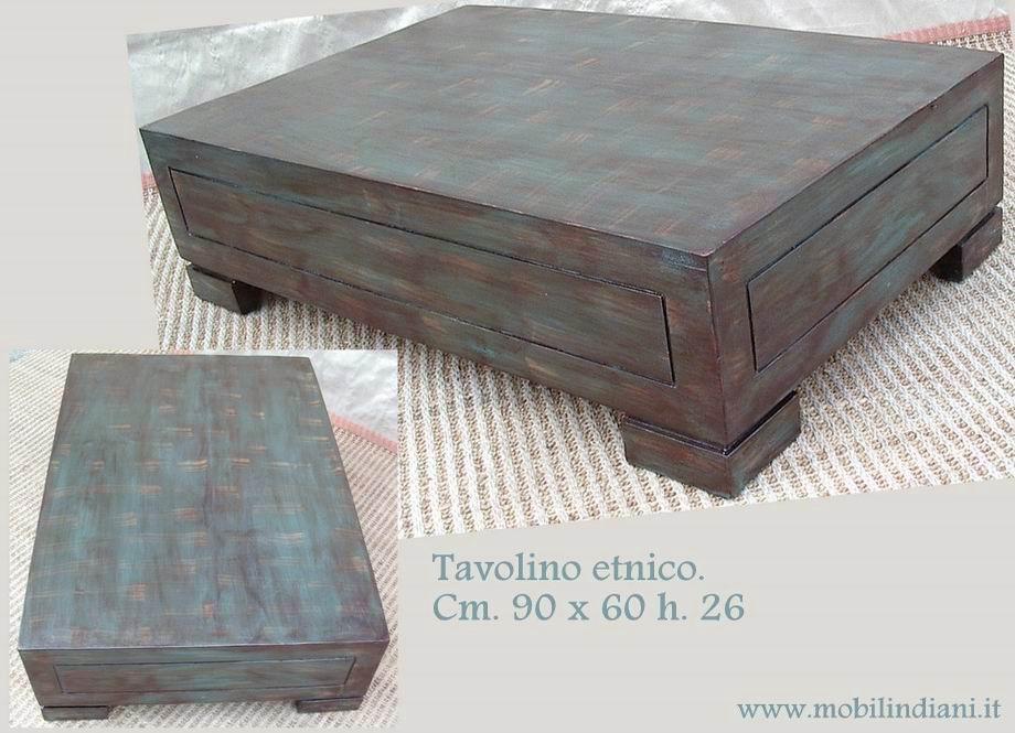Tavolini Bassi Da Salotto Etnici.Tavolini Tavolino Basso Etnico