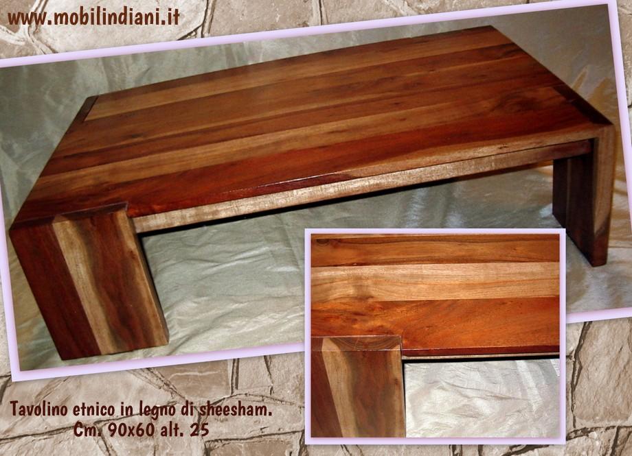 Tavolini etnici indiani tavolo etnico basso fronte divano - Tavolini per divano ...